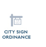 sign ordinances